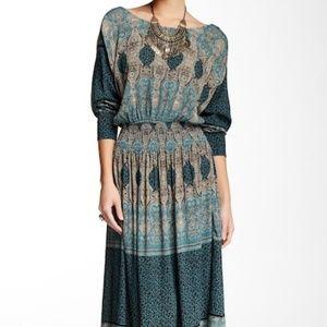 NWT Free People She's A Lady Dress – Jade – Large